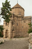 Akdamar Armenian Cathedral. Akdamar island is home to a tenth-century Armenian Cathedral church, known as the Cathedral Church of the Holy Cross (915-921), and Stock Photography