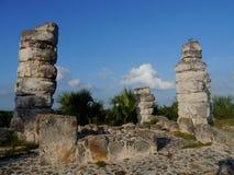 Ake pyramid Maya mexico history culture travel sigtseeing tourism stock images