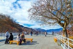 Akechi-daira Viewpoint in Nikko, Japan Stock Image