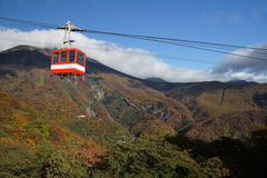 Akechidaira Ropeway Royalty Free Stock Images