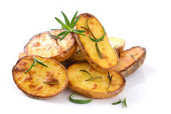 Aked potatoes Royalty Free Stock Photo