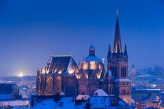 Aken, Duitsland Stock Foto's