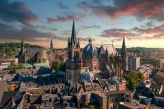 Aken, Duitsland Royalty-vrije Stock Foto