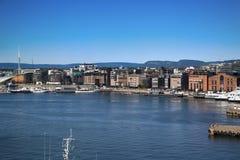Aker Brygge, Όσλο, Νορβηγία Στοκ φωτογραφία με δικαίωμα ελεύθερης χρήσης