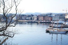 Aker Brygge Royalty-vrije Stock Fotografie