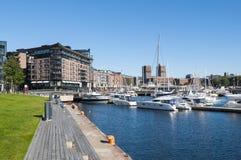 Aker Brygge, Oslo Stock Image