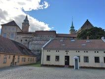 Akershus堡垒 免版税库存图片
