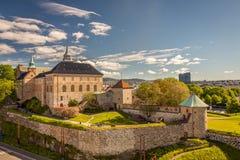 Akershus堡垒 免版税图库摄影
