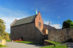Akershus castle in Oslo Stock Images