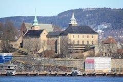 Akershus Festning/крепость Стоковое Изображение RF