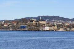 Akershus Festning/fortezza Immagini Stock Libere da Diritti