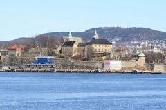 Akershus Festning/fortezza Fotografia Stock Libera da Diritti