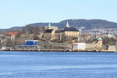 Akershus Festning / Fortress royalty free stock photography