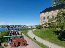 Akershus Fort in Oslo Stock Photos