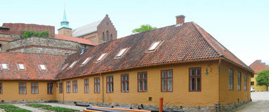 Akershus Fortress. Is located in Oslo, Norway royalty free stock photos