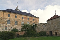 Akershus Fortress. In Oslo Norway stock image