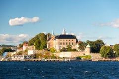 Akershus Fortress. Historic Akershus Fortress, Oslo, Norway stock images