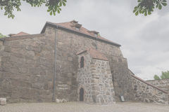 Akershus Fortress or Akershus Castle is a medieval castle that w Stock Photos