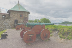 Akershus Fortress or Akershus Castle is a medieval castle that w Stock Photo