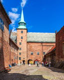 Akershus Fortress Courtyard Royalty Free Stock Image