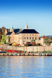 Akershus Fortress at golden hours vertical Royalty Free Stock Photos