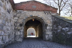 Akershus fortress. Medieval Akershus fortress in Oslo, Norway Stock Image