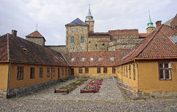 Akershus Fortress in Oslo Royalty Free Stock Image