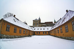 Akershus Fortress in Oslo, Norway. January 04, 2013 Stock Photography
