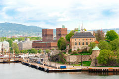 Akershus Fortress Oslo Royalty Free Stock Photo