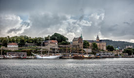 Akershus historic fortress, Oslo, Norway Stock Photos