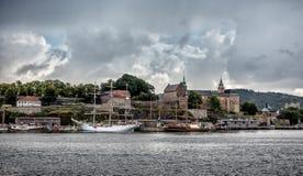 Akershus historic fortress, Oslo, Norway Stock Photos