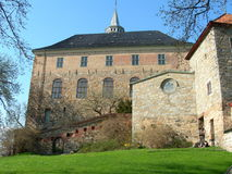 Akershus Oslo. Akershus fortress in Oslo in Norway Stock Photography