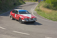 Akfasud at rally Colline di Romagna Royalty Free Stock Images