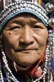 женщина akha Стоковые Фотографии RF