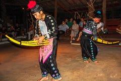 Akha Burmese dance Stock Image