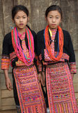 Akha girls, Phongsaly, Laos Royalty Free Stock Image