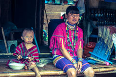 Akha people stock photography