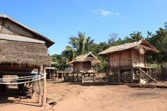 Akha tribe village (Laos) Royalty Free Stock Image