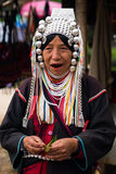 Akha  tribe woman Stock Photos