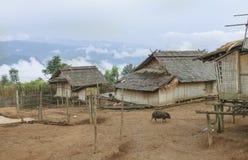 Akha village Royalty Free Stock Image