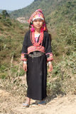 Akha woman in Laos Stock Photos