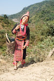 Akha woman in Laos Royalty Free Stock Photos
