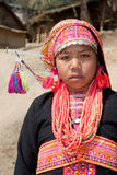 Akha woman from Laos Royalty Free Stock Photo