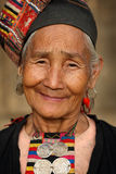 Akha woman, Phongsaly, Laos Royalty Free Stock Images