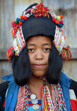 Akha woman, Phongsaly, Laos Stock Photos