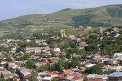 Akhaltiskhe in Republiek Georgië Stock Afbeelding