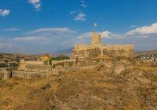 Akhaltsikhe, Georgia - das Rabati-Schloss stockfotos