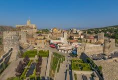 Akhaltsikhe, Georgia - das Rabati-Schloss lizenzfreie stockbilder