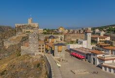 Akhaltsikhe, Georgia - el castillo de Rabati fotos de archivo