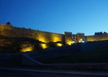 Akhaltsikhe Rabati kasztelu ściana obrazy royalty free